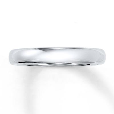 Triton Wedding Band White Tungsten Carbide 4mm