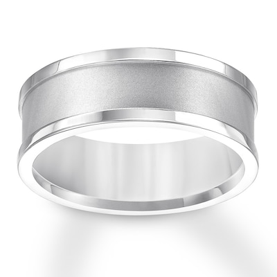 Triton Brushed Wedding Band Titanium 8mm