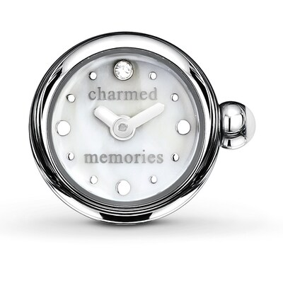 Charmed Memories Timebeads Charm Mother-of-Pearl Dial