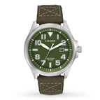 Citizen Men's Watch Military Strap Collection AW1410-16X