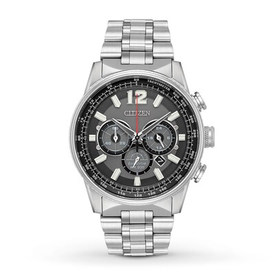 Citizen Nighthawk Mens Chronograph Watch CA4370-52E