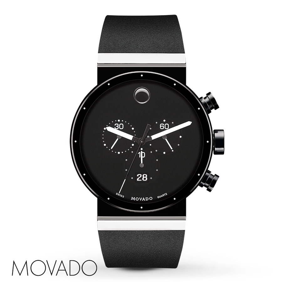 steel watch mens jacobtime luno movado watches stainless