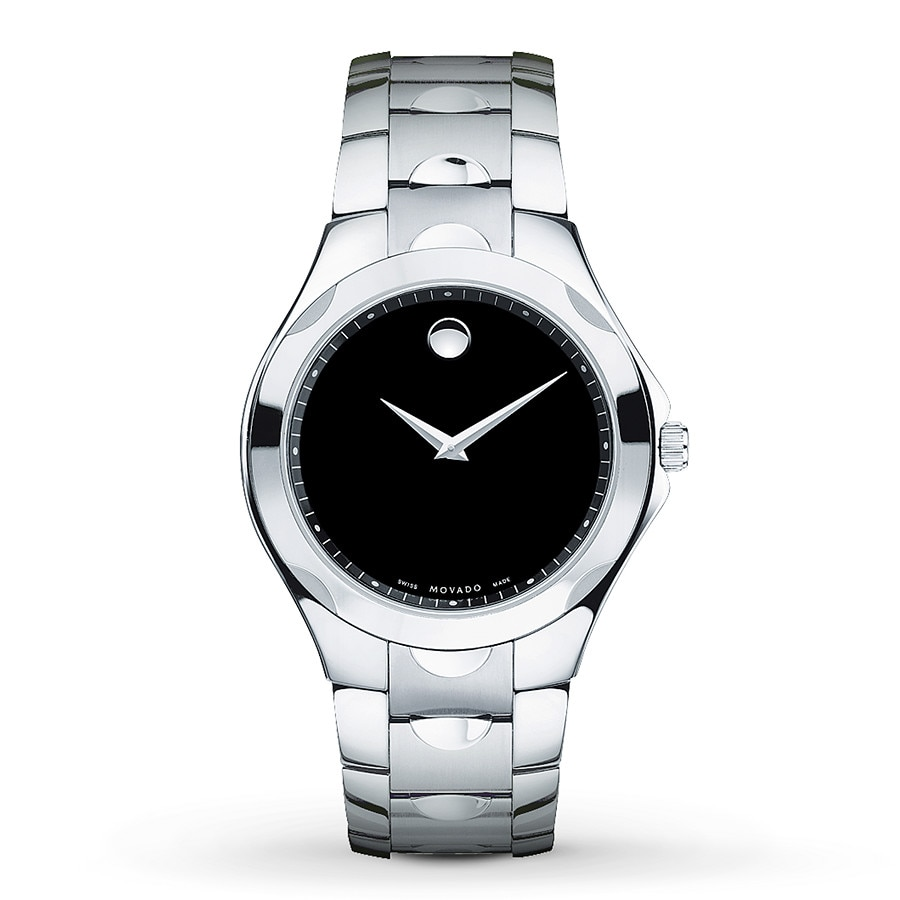 watches property movado l room steel watch luno stainless