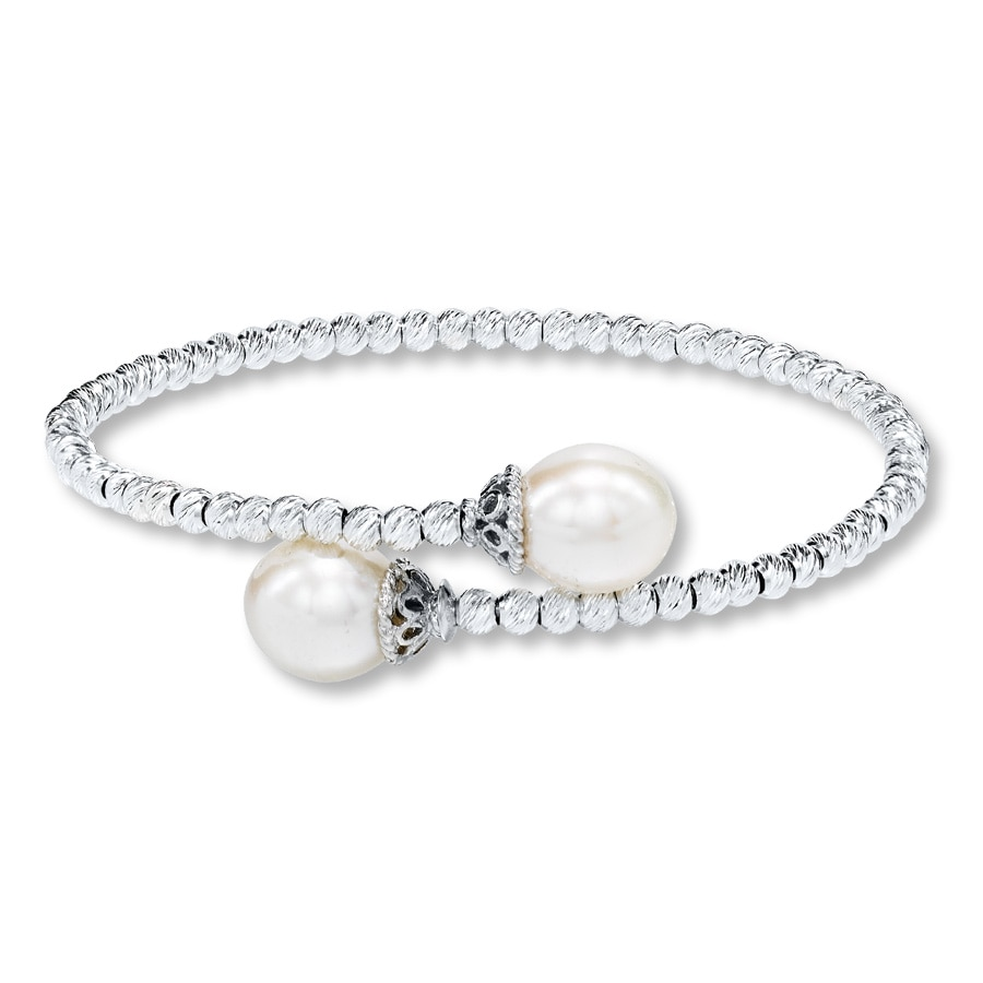 Kay Cultured Pearl Bracelet Sterling Silver
