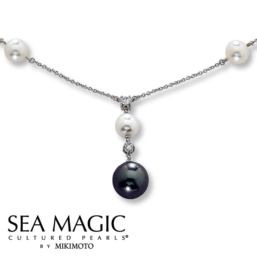 33ad191dbc8cb Clearance! Sea Magic Cultured Pearls® by Mikimoto Necklace ...