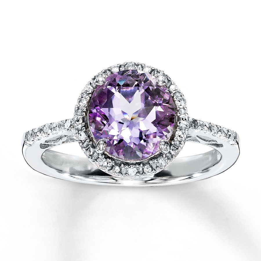 amethyst rings - photo #4