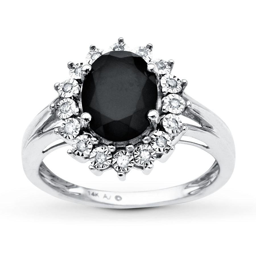 ring blackhillsgold solid hills landstrom onix s onyx ladies black gold direct rings