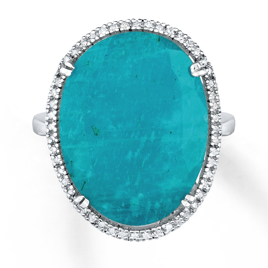 ring in zoe product lyst kirst metallic morgan gallery amazonite rings jewelry