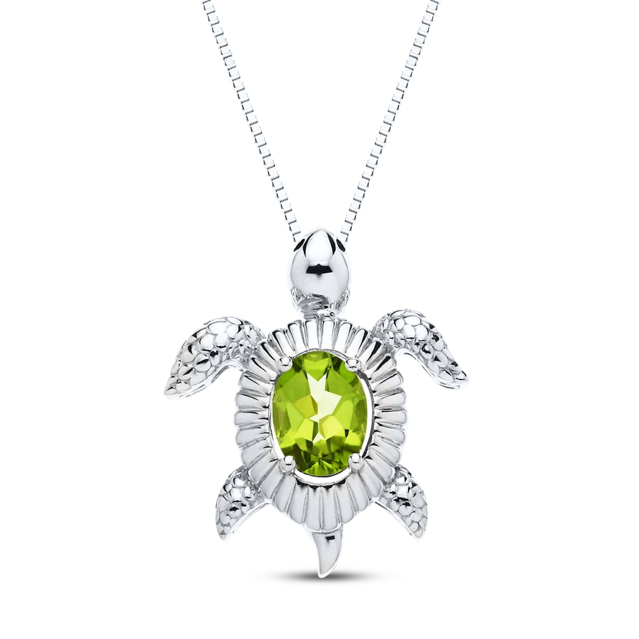 Peridot And Emerald Engagement Ring