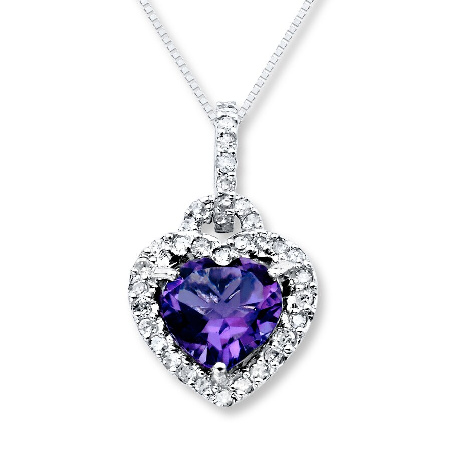 buy necklace amethyst jewellery zoom destiny online with crystal in swarovski