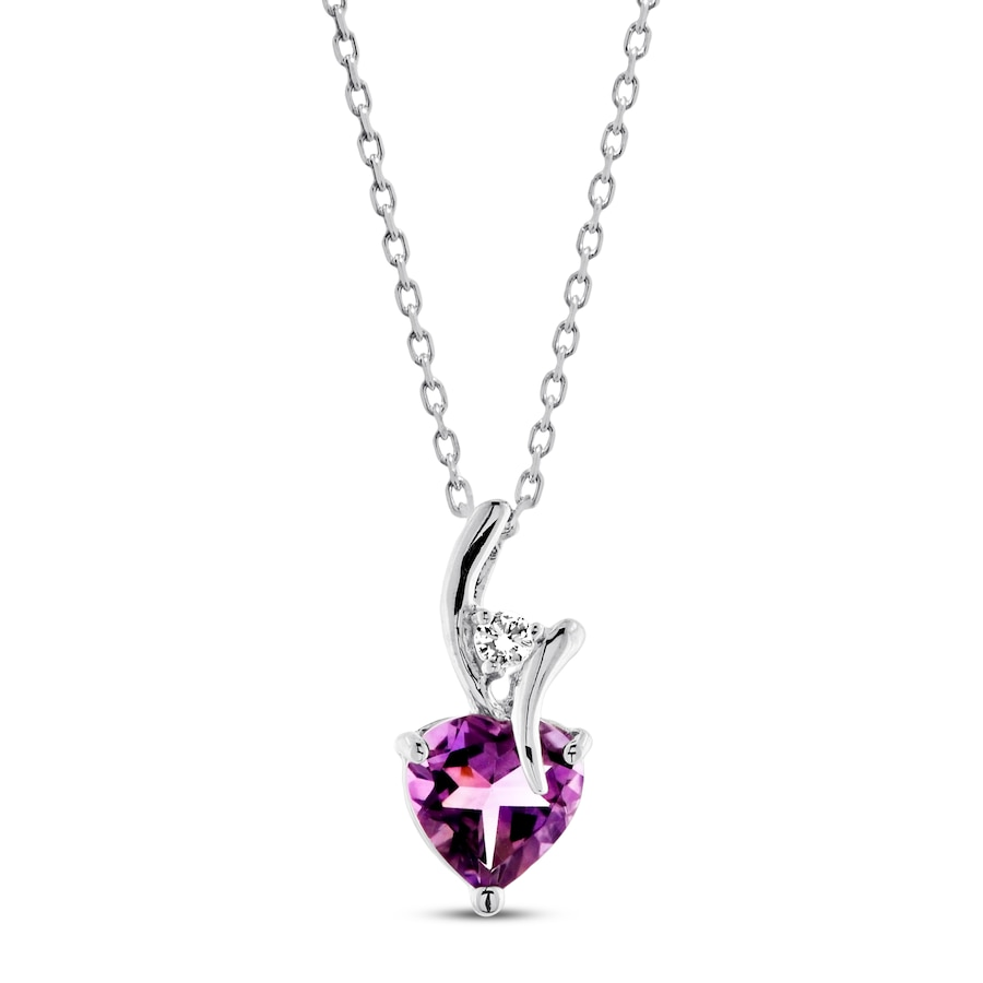 sterling ani alex amethyst pendant jewellery detail silver and necklace