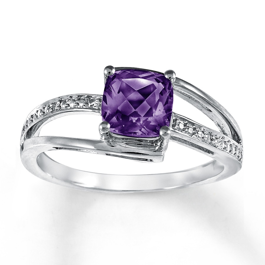 amethyst rings - photo #10