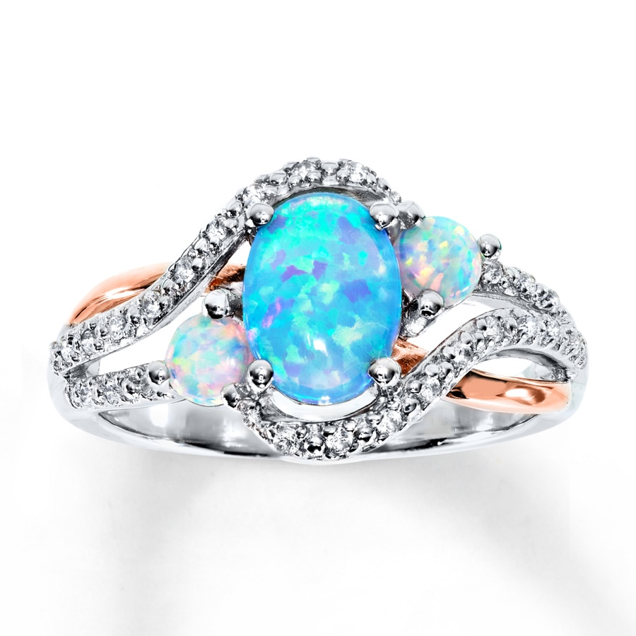 band sapphire madison claw stone oceanbring ring audrey slide women products next black jewelry ocean rings engagement aquamarine antique fire blue opal men