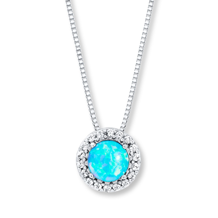 allah shop pendant blue opal website women silver necklace lulugem for products sterling com