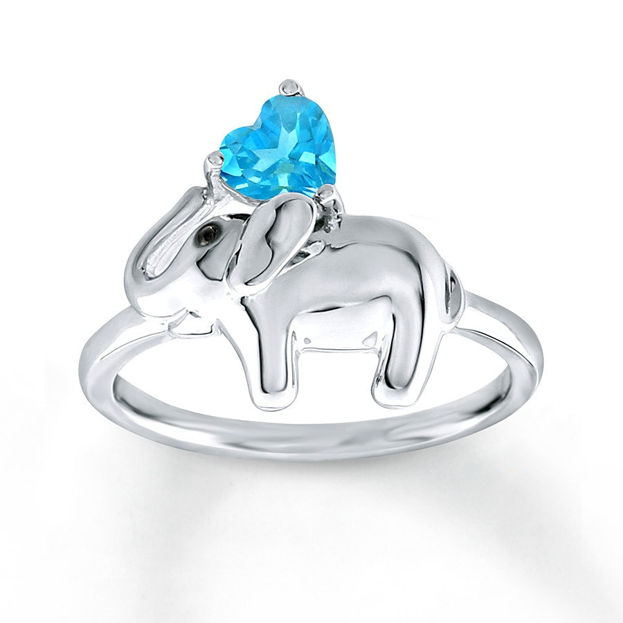 rings elephant page product com engagement ring sterling qvc diamonique