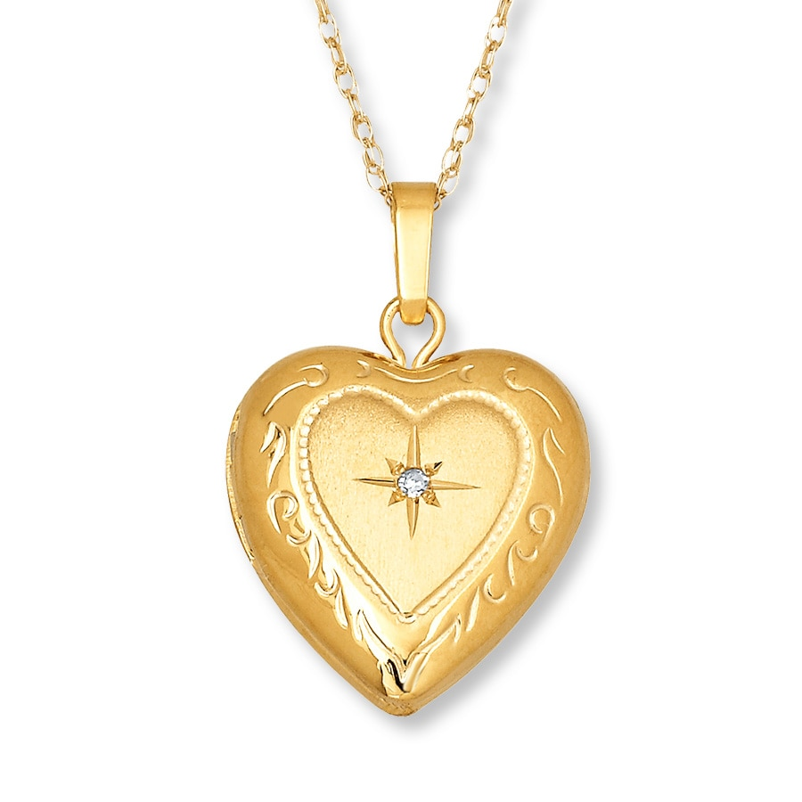 dp necklace locket lockets jewelry and accent shaped white gold amazon heart com diamond