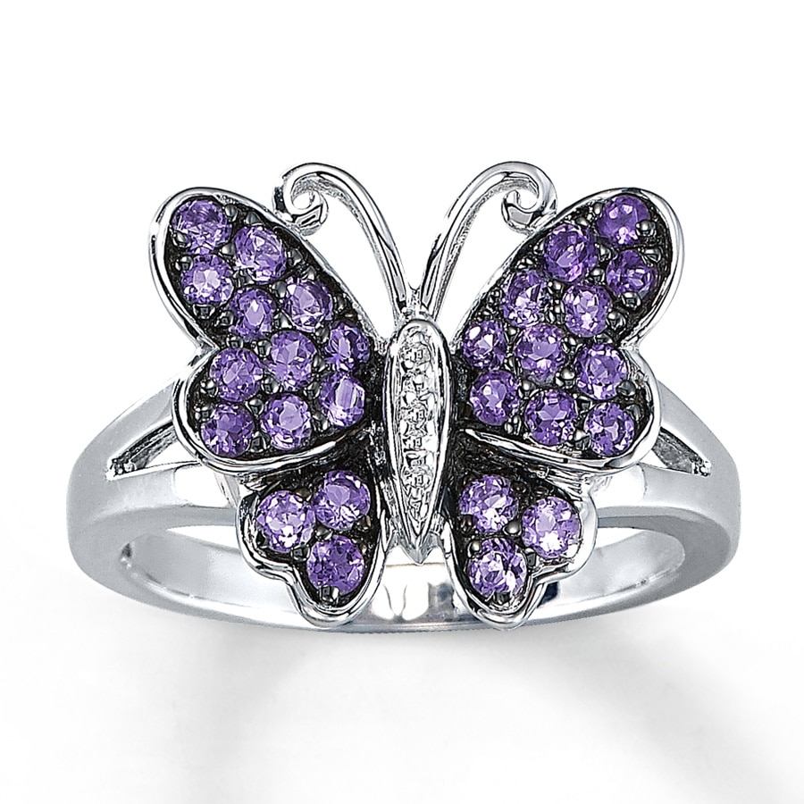 catalog blue ring sterling u cat butterfly black asp rings silver