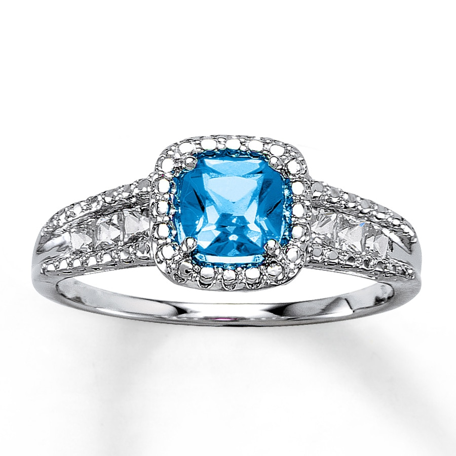 cocktail jewellery rings ring azendi topaz blue