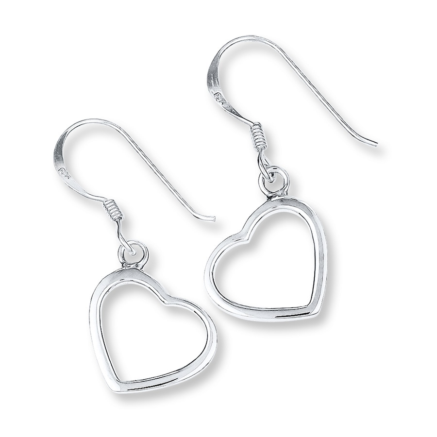 en studs heart estore luminous pandora earring hearts earrings