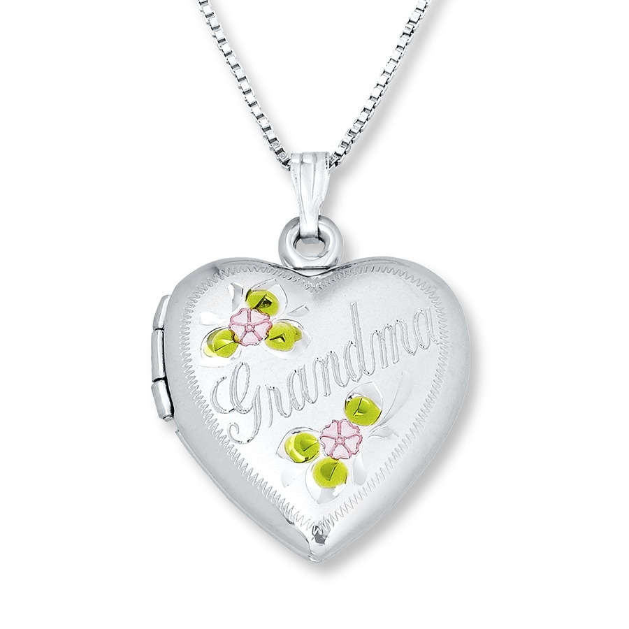 gifts locket at for personalized heart wid lockets category crystal grandma remembered things