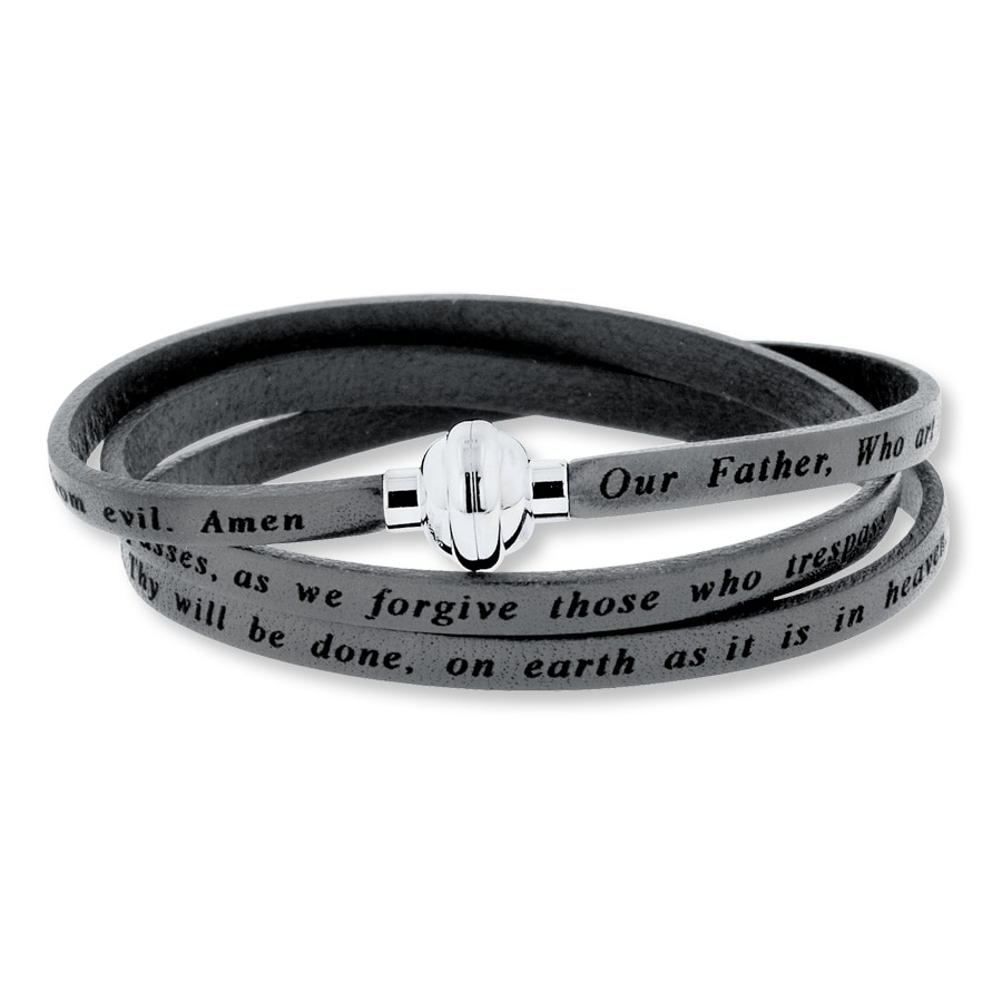 Large View Lord S Prayer Bracelet