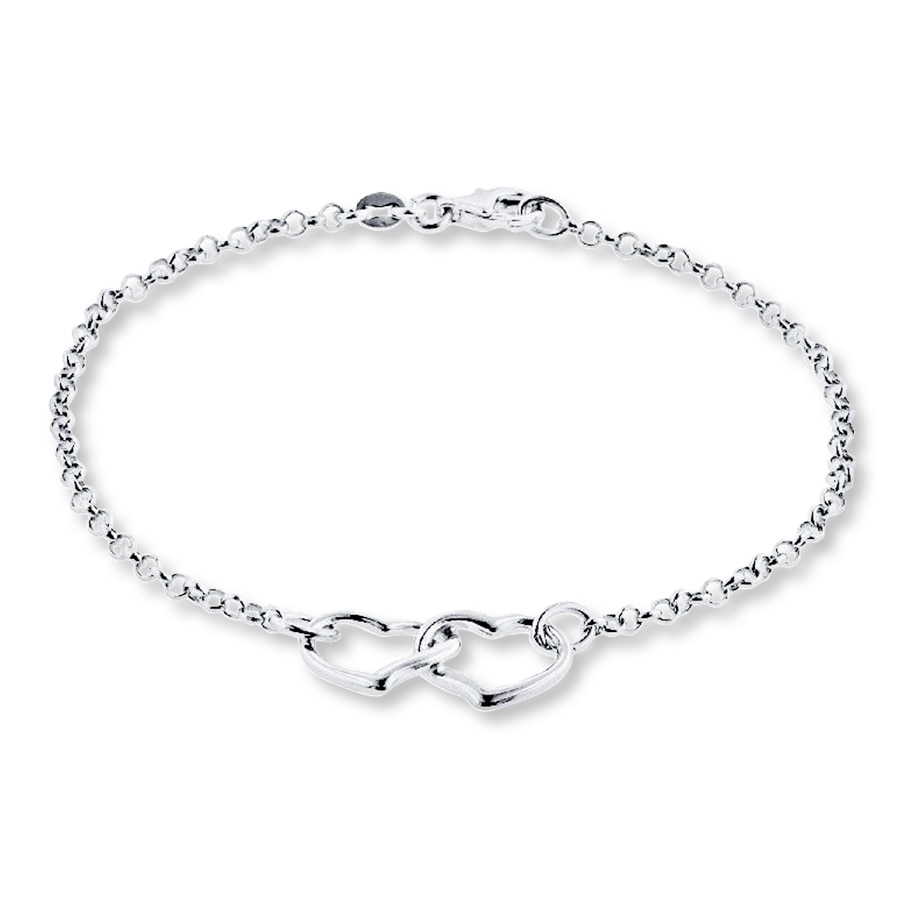 olizz with bracelet silver sterling inch anklet star charms ankle
