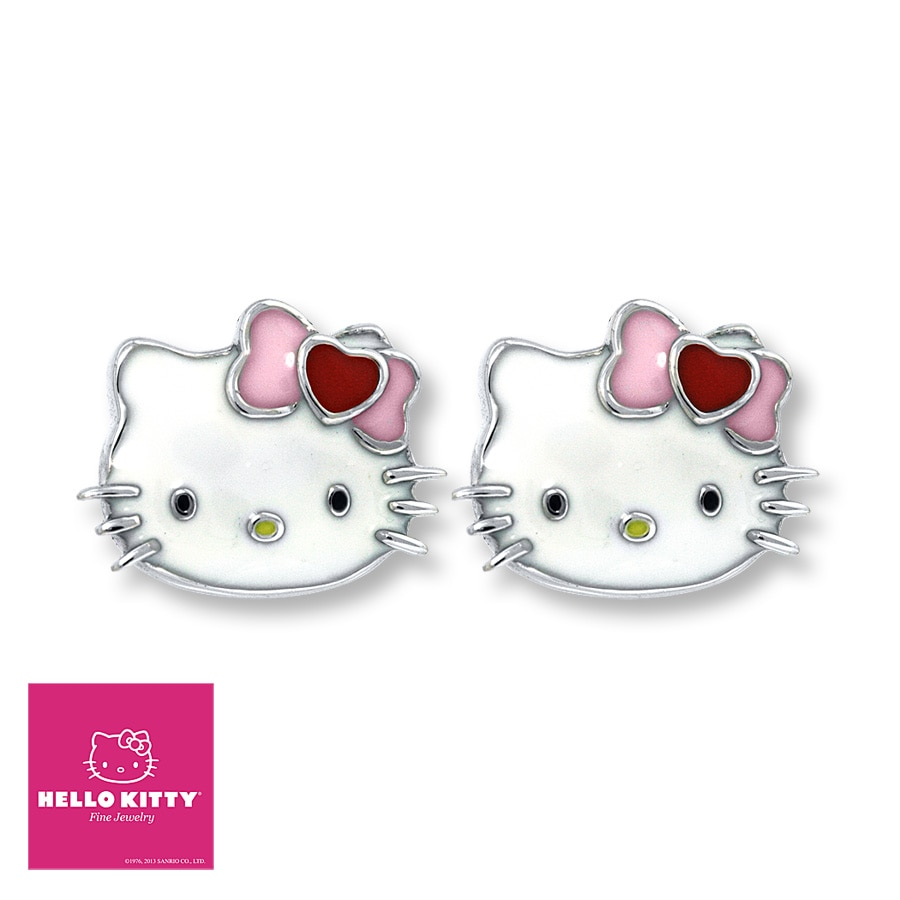 Kay - Hello Kitty Earrings Sterling Silver