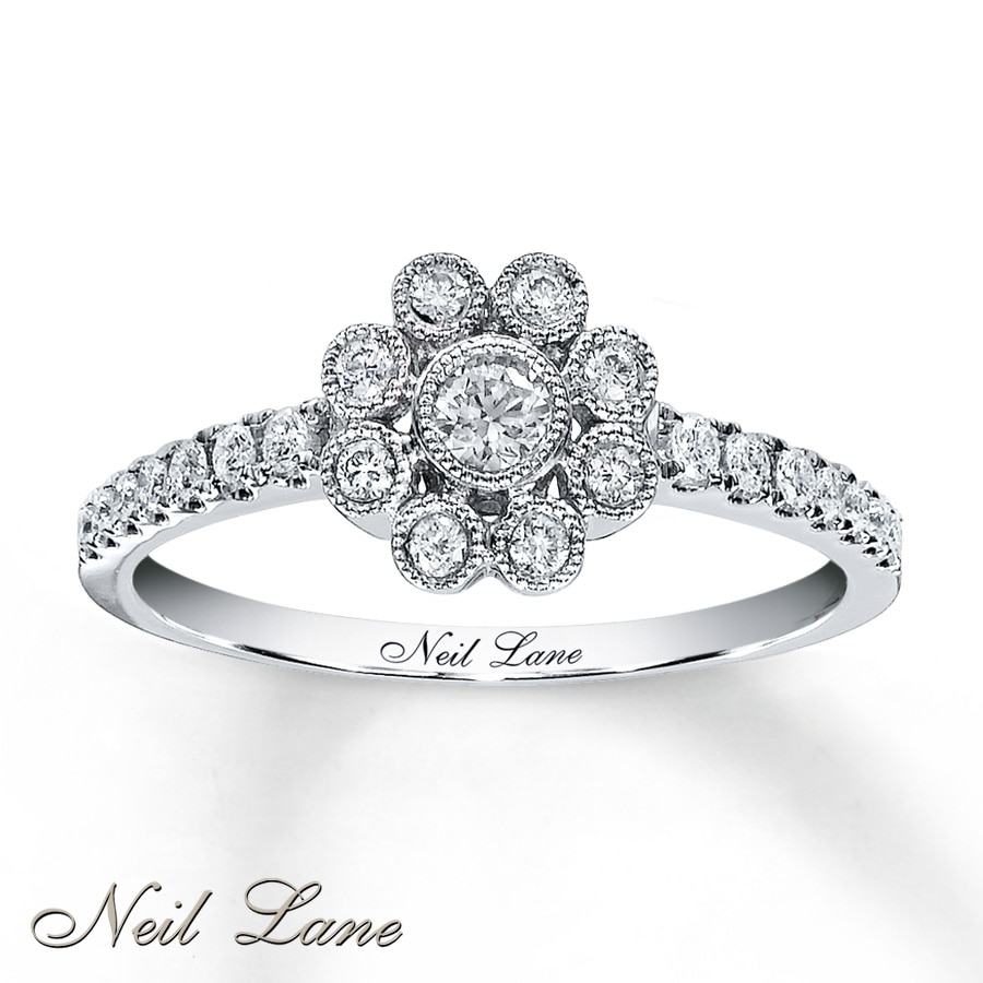 kaystore en zm diamonds white tw neil ring engagement gold diamond mv ct kay lane