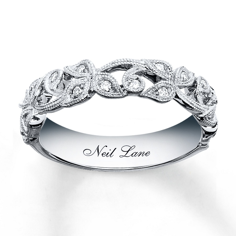 Neil Lane Designs Ring 1 8 Ct Tw Diamonds Sterling Silver