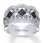 Neil Lane Designs Ring 1/3 ct tw Diamonds Sterling Silver