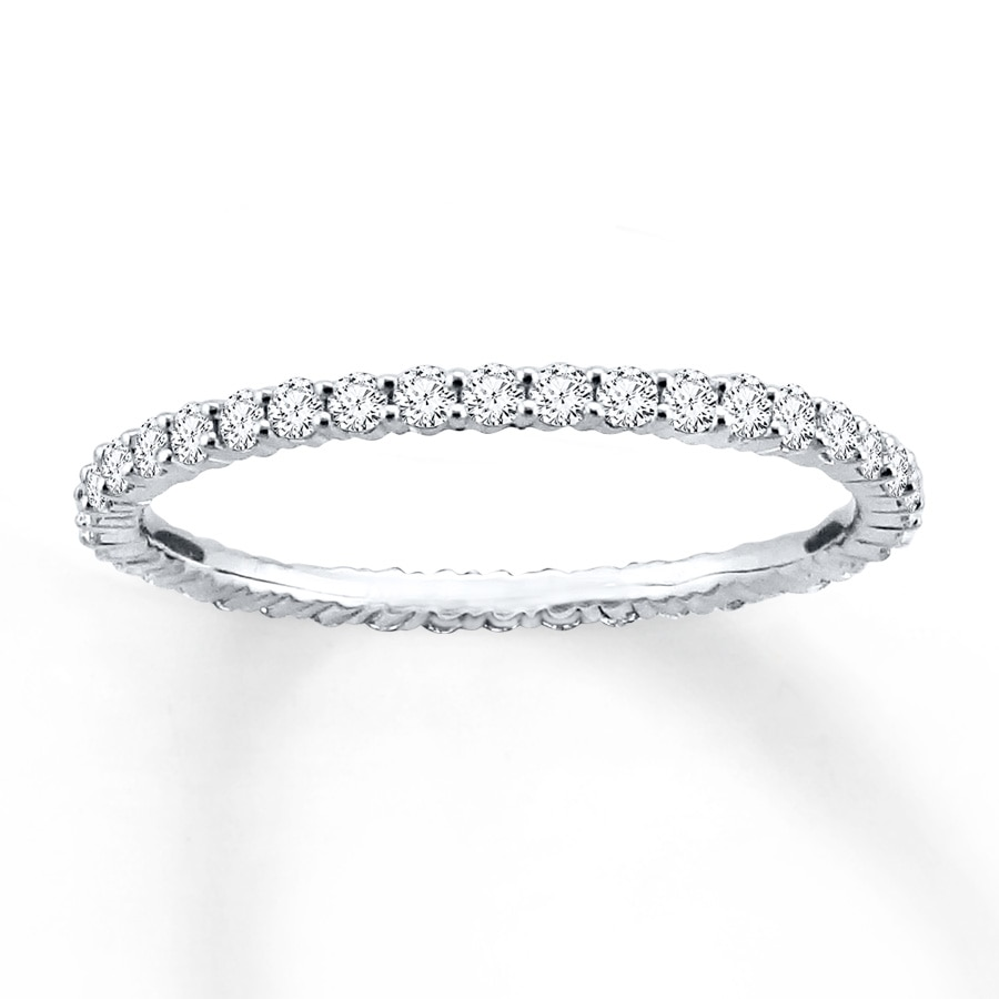 diamond memoire odessa band carat tw bands eternity wedding in platinum