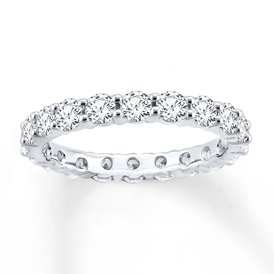 oval product gold eternity white bands diamond carat band