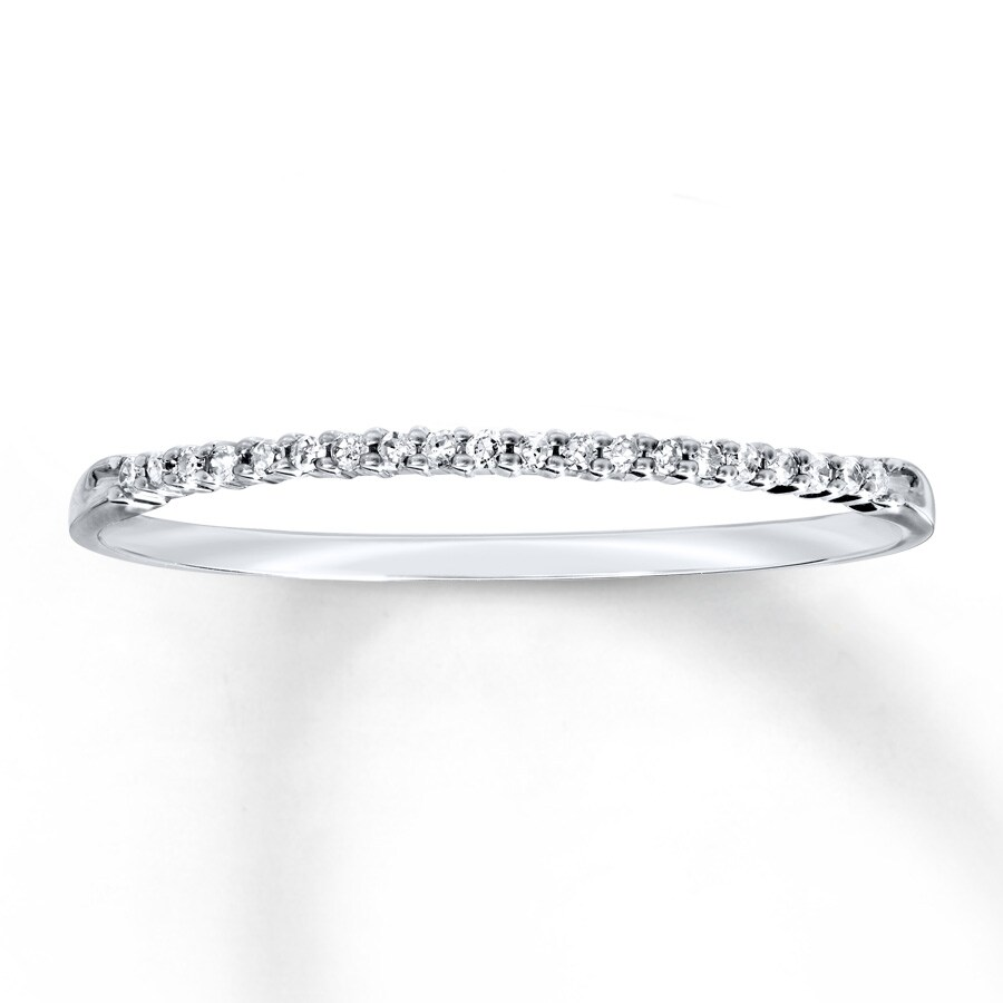 40977393b924f Diamond Anniversary Band 1/20 ct tw Round-cut 10K White Gold