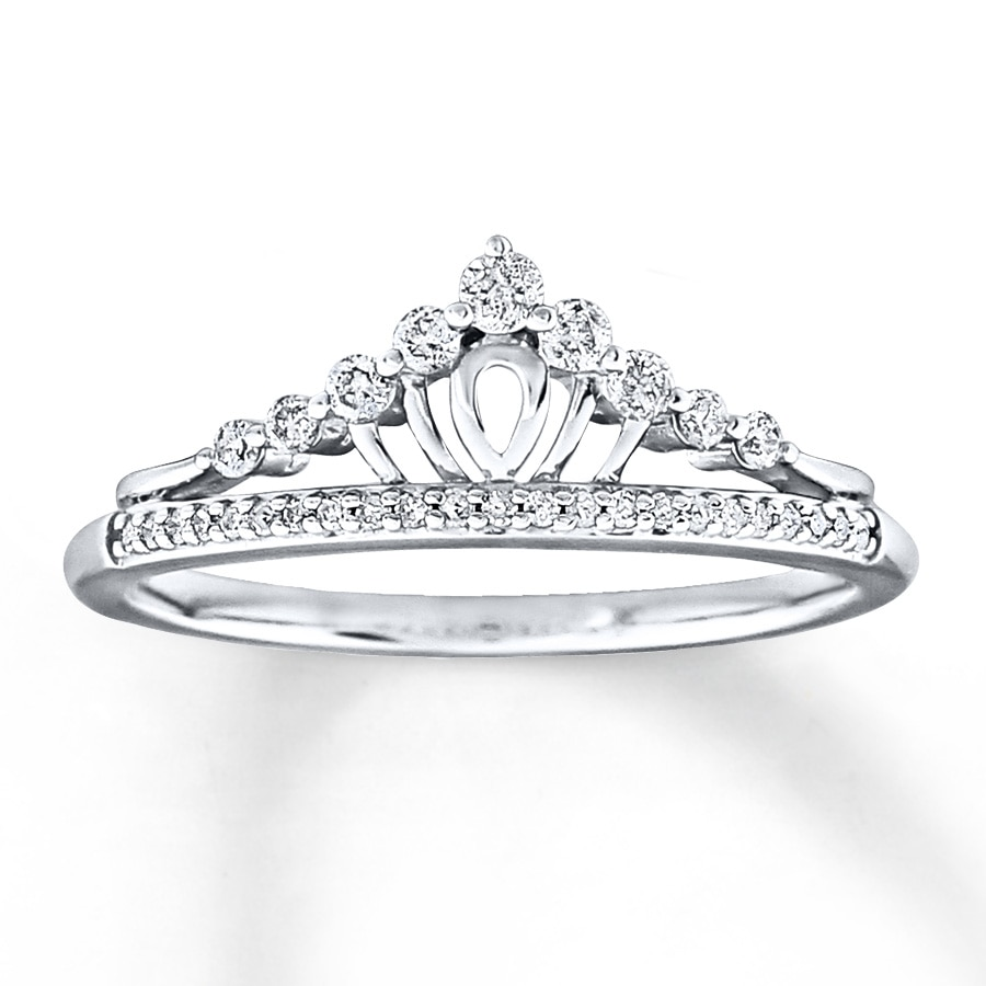 band womens cubic sterling on women crown jewelry s overstock over orders silver oliveti shipping ring product rings free princess clear engagement zirconia watches tiara