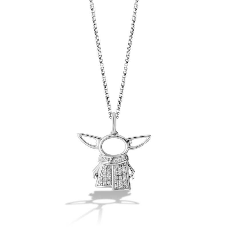 Baby Yoda Mandalorian Necklace Pendant Star Wars Gifts