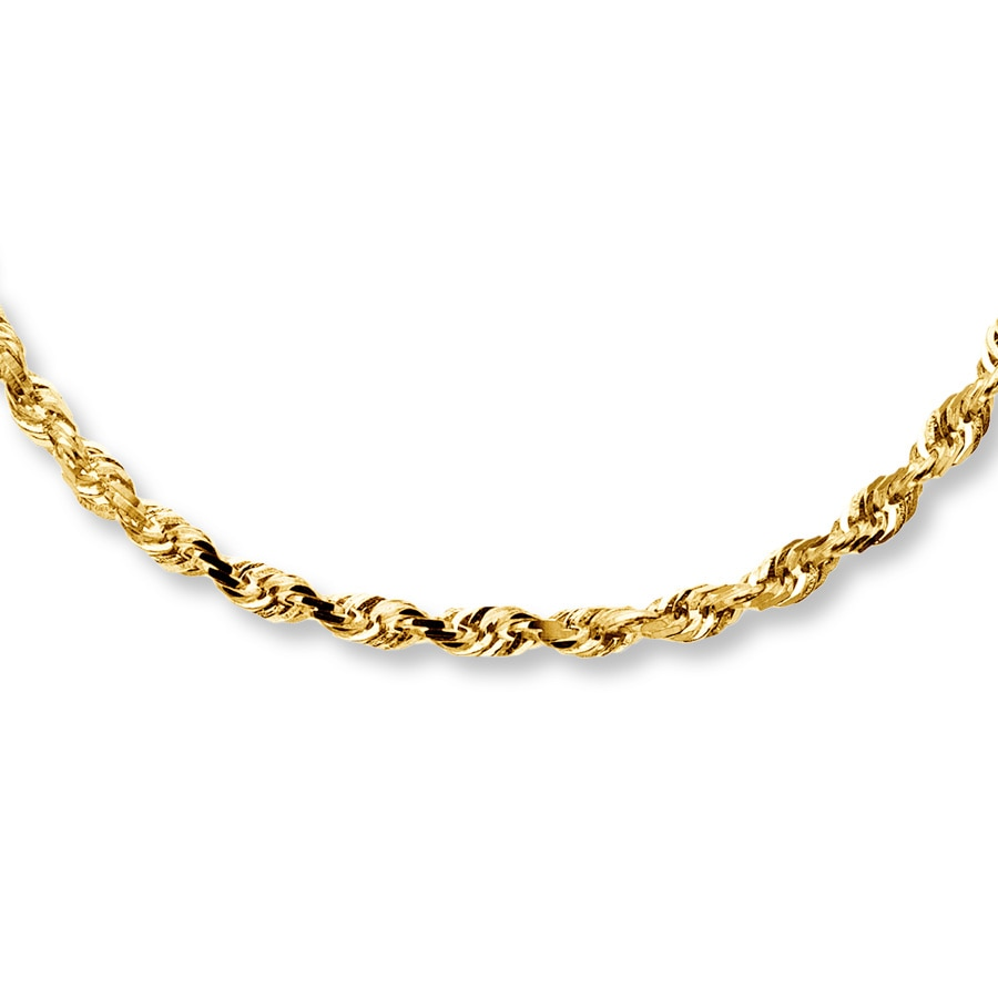 online petit lion solid necklace rope gold collections products yellow chain