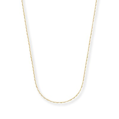 "Mariner Chain Necklace 14K Yellow Gold 18"" Length"