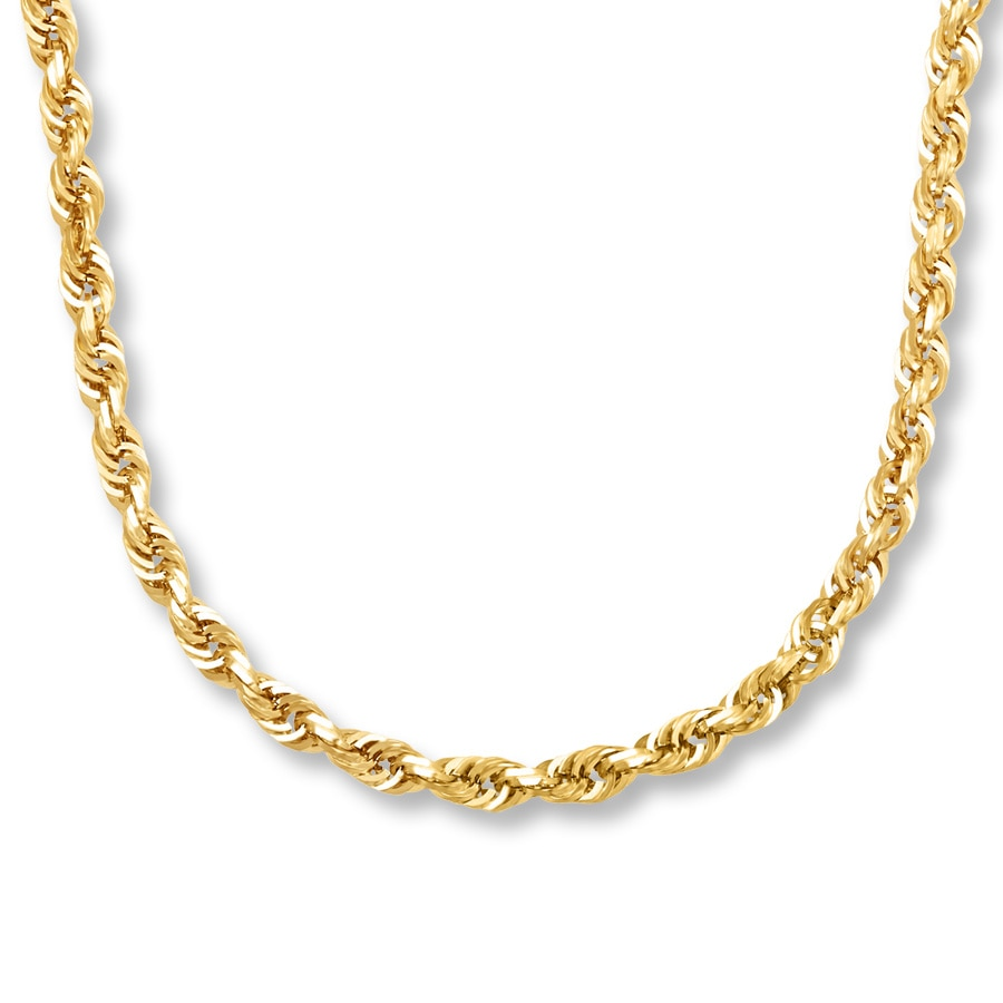 5874a0d9a911c Men's Chain Necklace 10K Yellow Gold