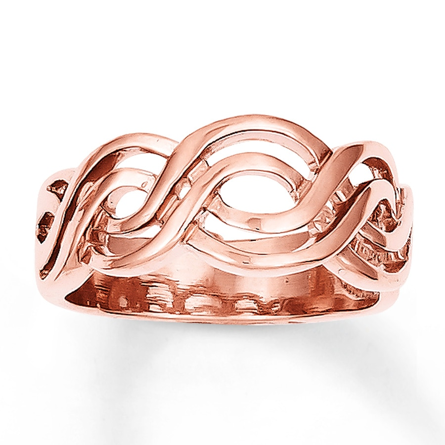 Rose Gold Ring Rose Gold Ring Kay