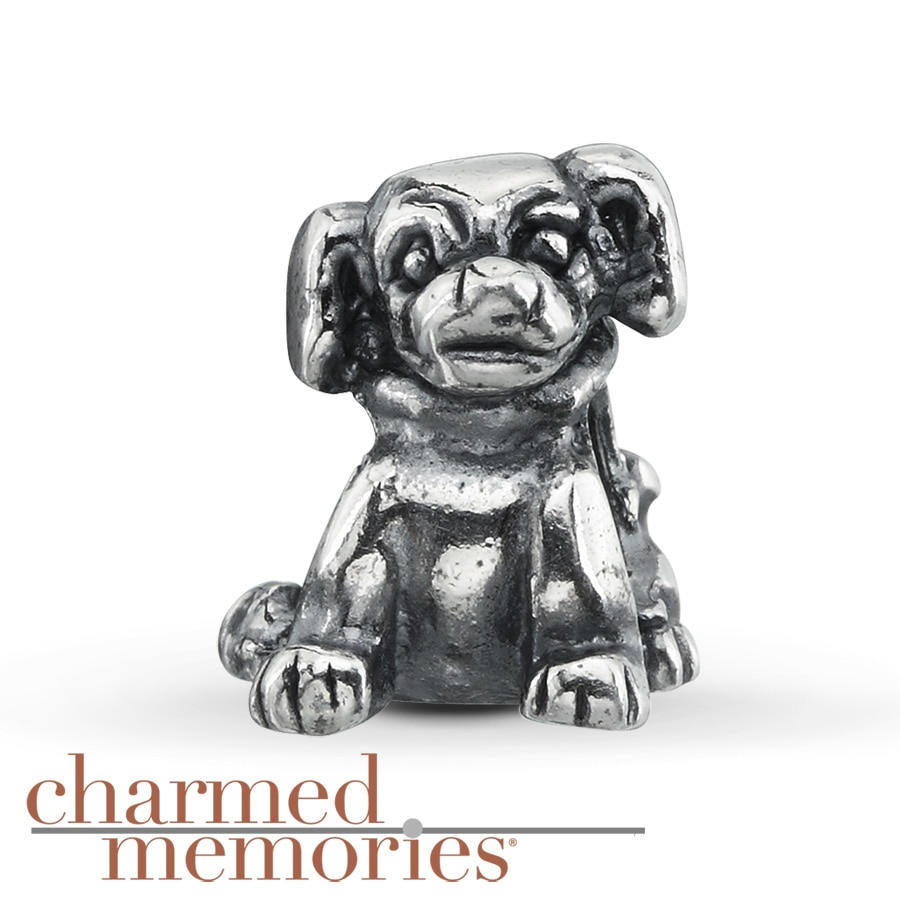 Kay - Charmed Memories® Dog Charm Sterling Silver