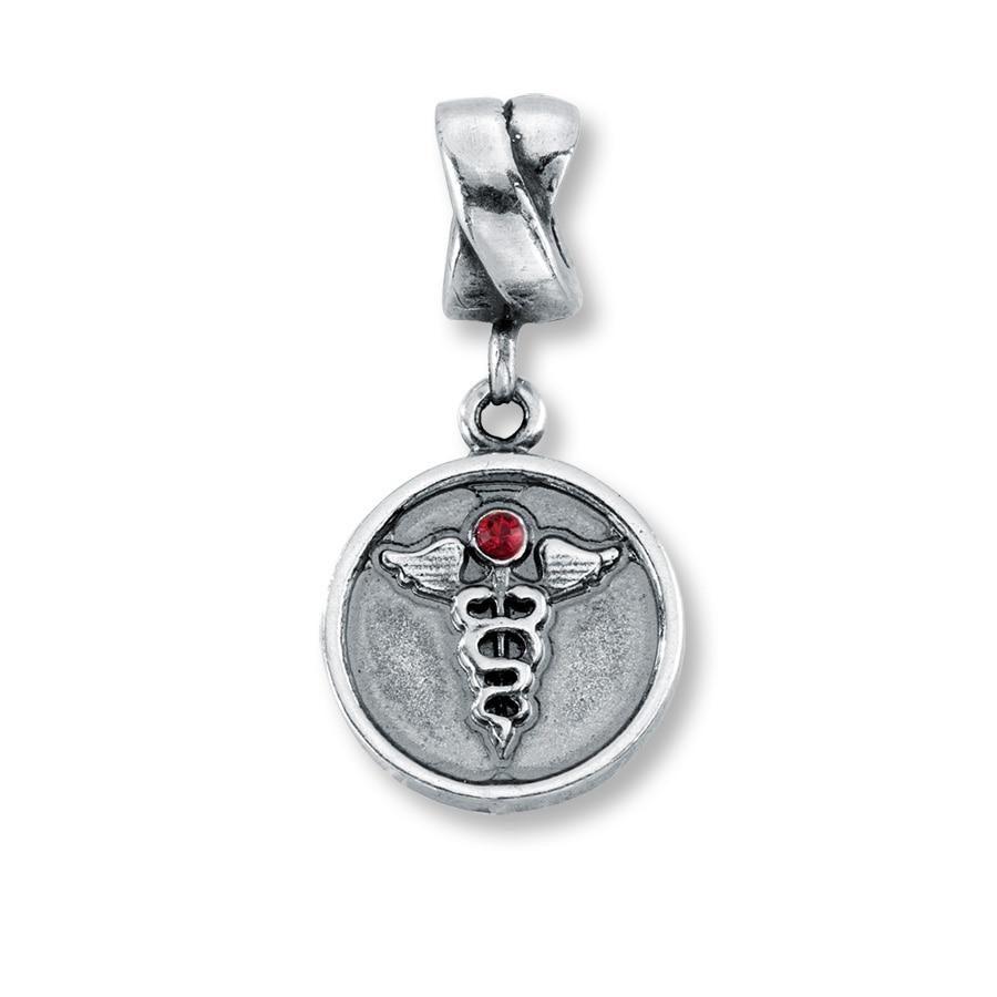 3f8a1c349 ... 14k Life Saver Charm 791042 PANDORA® Charms Beads Certified PANDORA  Charm Retailer PA Charmed Memories Nurse Dangle Charm Sterling Silver ...