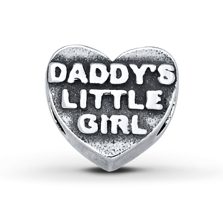 Charmed Memories Daddy S Little Girl Charm Sterling Silver