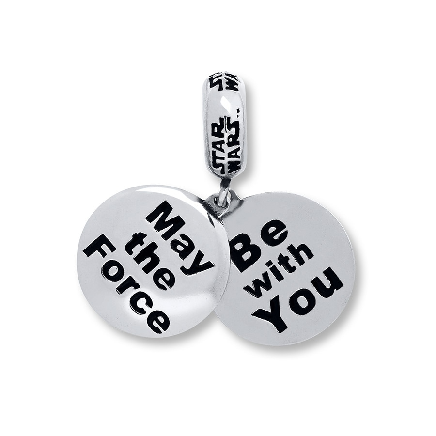 25334e24c ... shopping charmed memories star wars force charm sterling silver 6d53d  aa700 ...