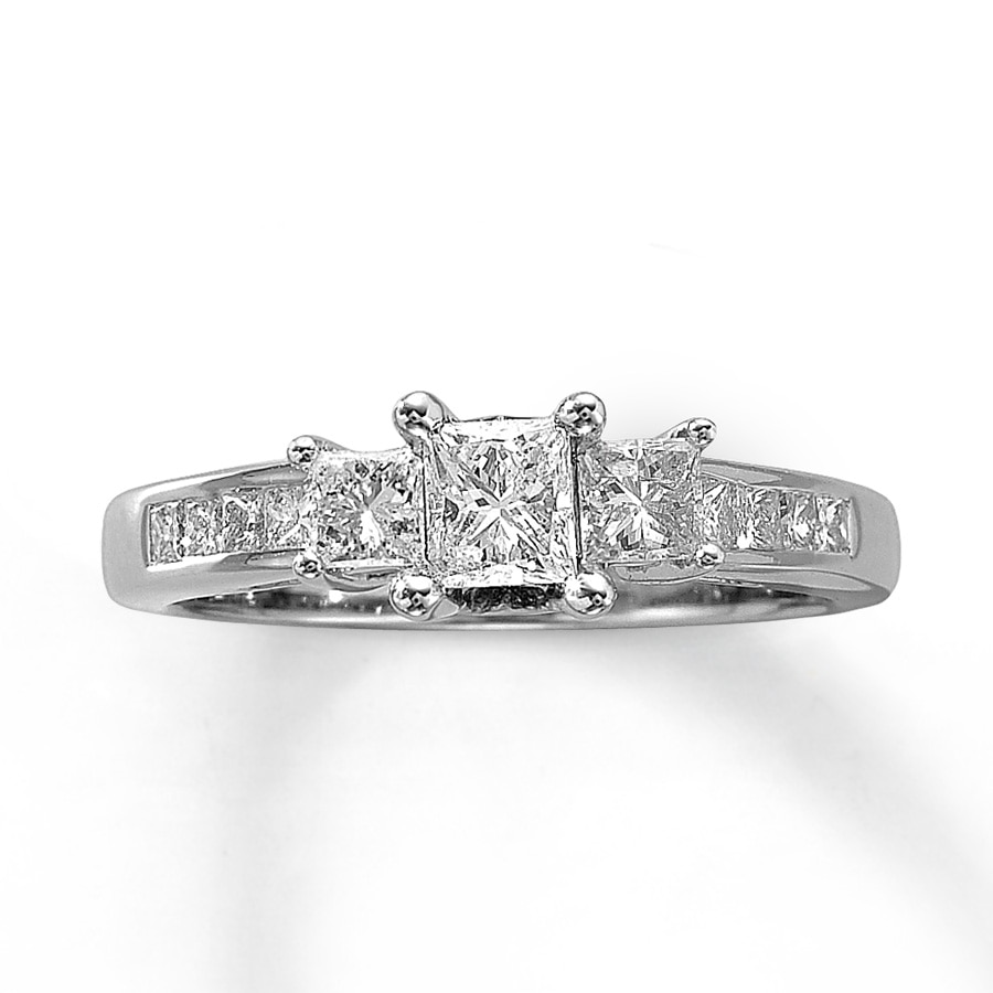 Kay Previously Owned Ring 1 ct tw Diamonds 14K White Gold