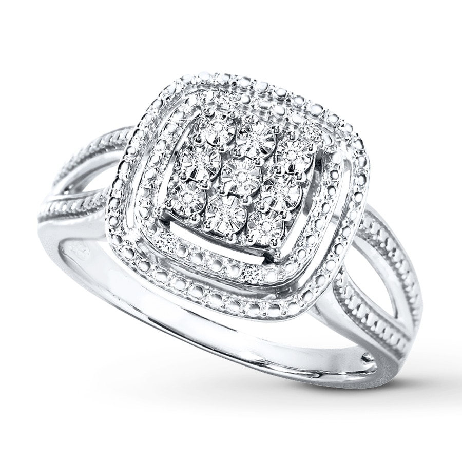 jewelers diamond engagement zoom cut round kaystore en neil ring gold zm mv white to rings lane diamonds kay ct tw hover