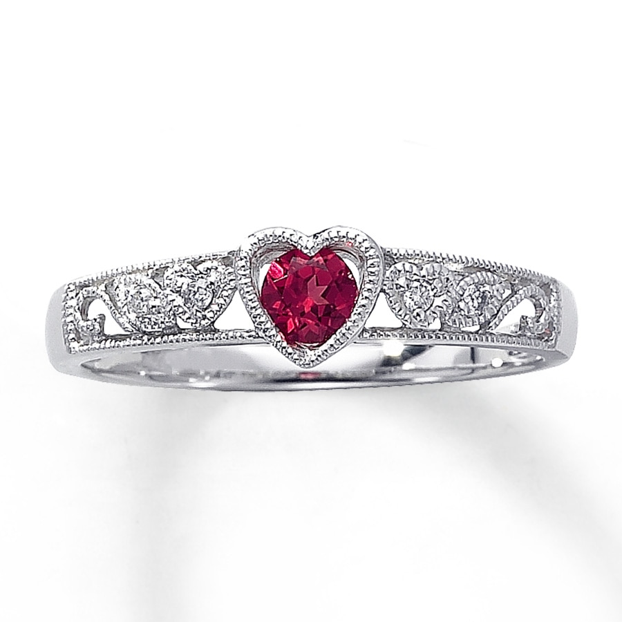 a neil sporting accent lane rings ruby jessica with romance diamonds simpson the carat color engagement of stone as creation stones colored