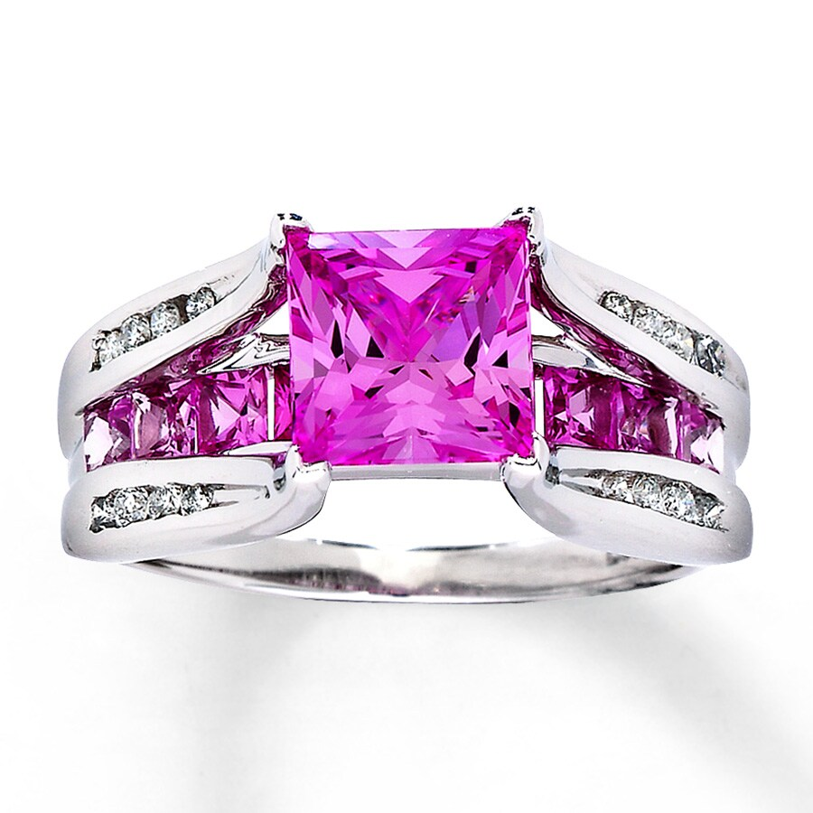 Kay Jewelers Pink Sapphire Ring - New Image Ring Aintnoneed.Org