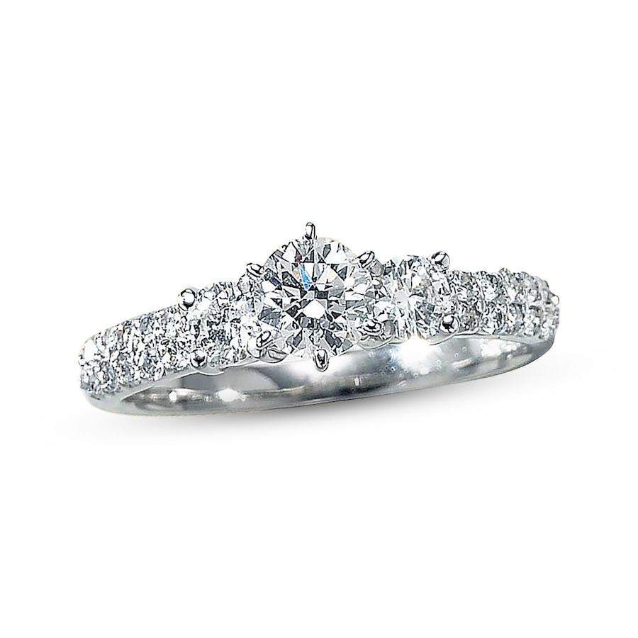 kay clearance 1 carat t w diamond enement ring - Clearance Wedding Rings