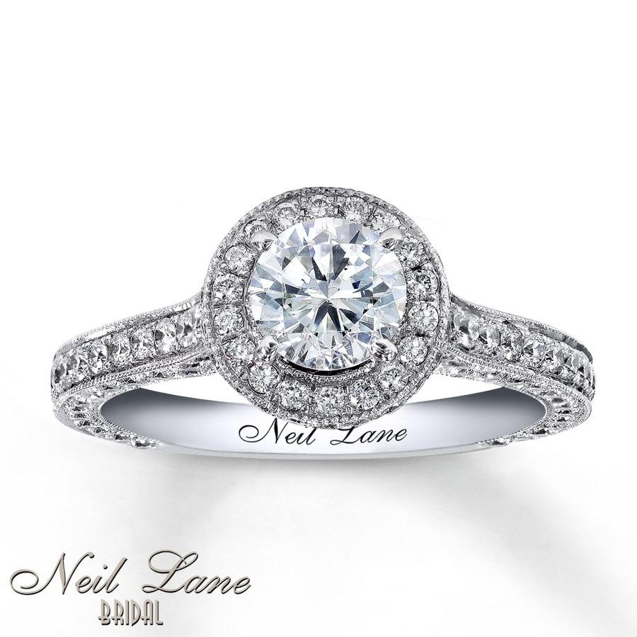 ring on pics ct finger topic lane size halo neil engagement of diamond