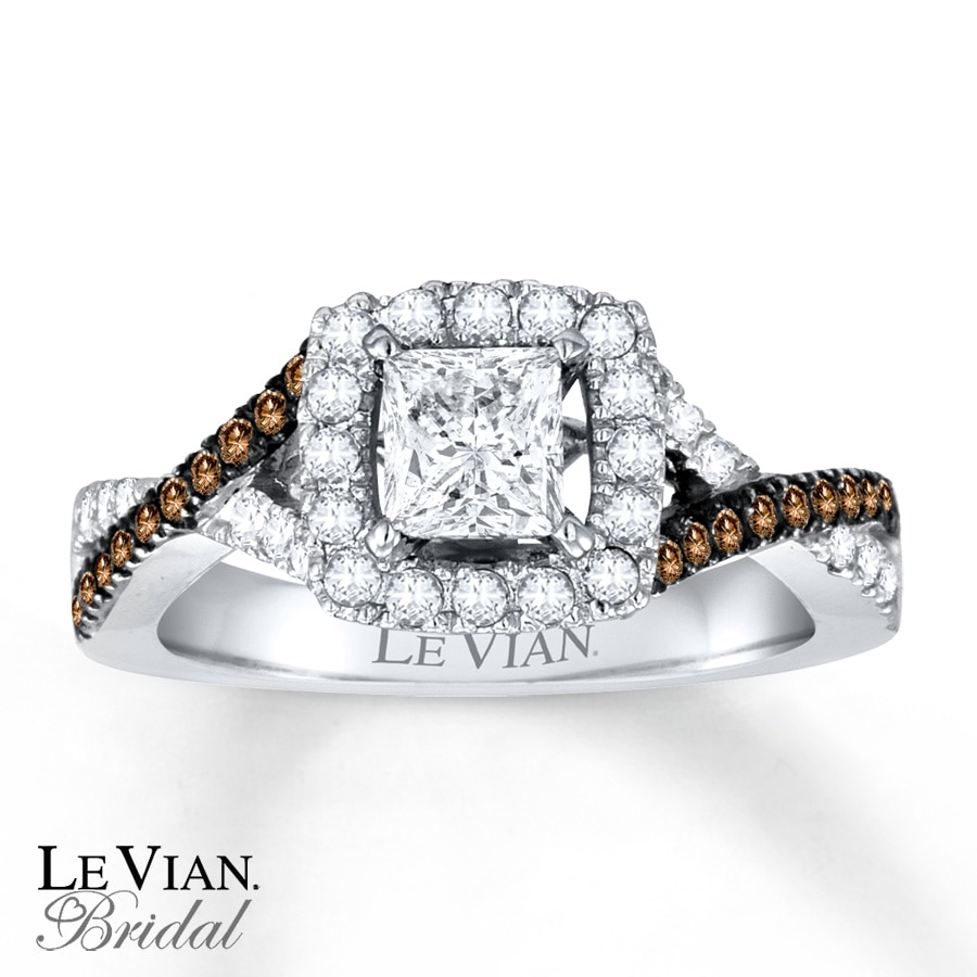 rings set of diamonds levian with bridal w wedding chocolate vian white rose tcw le tags new gold picture